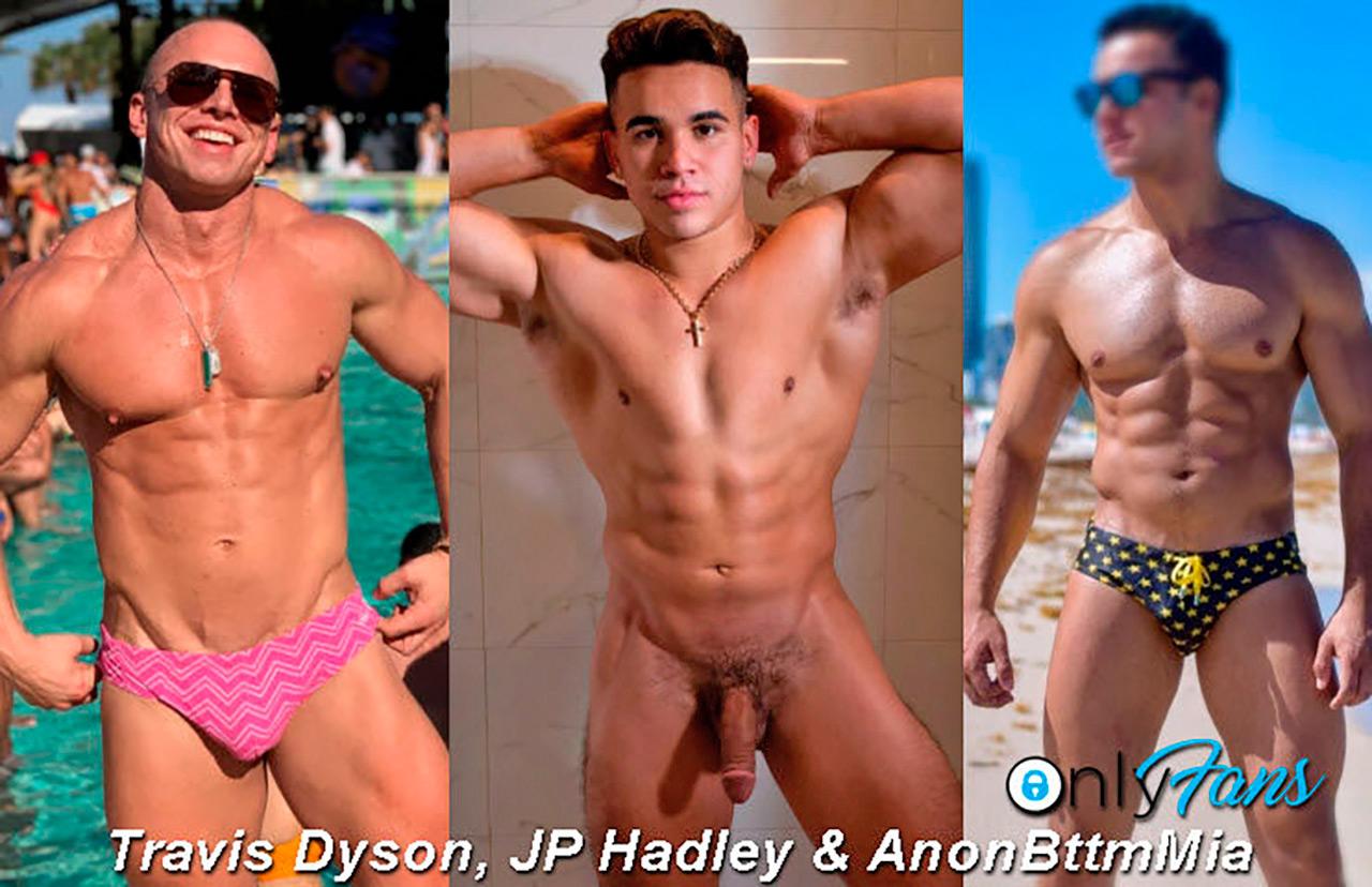 Travis Dyson, JP Hadley & AnonBttmMia