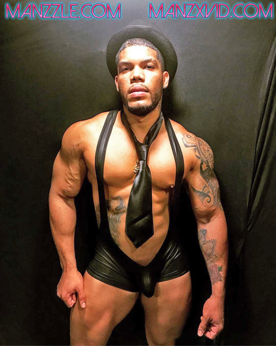 daddy fitrd black singlet