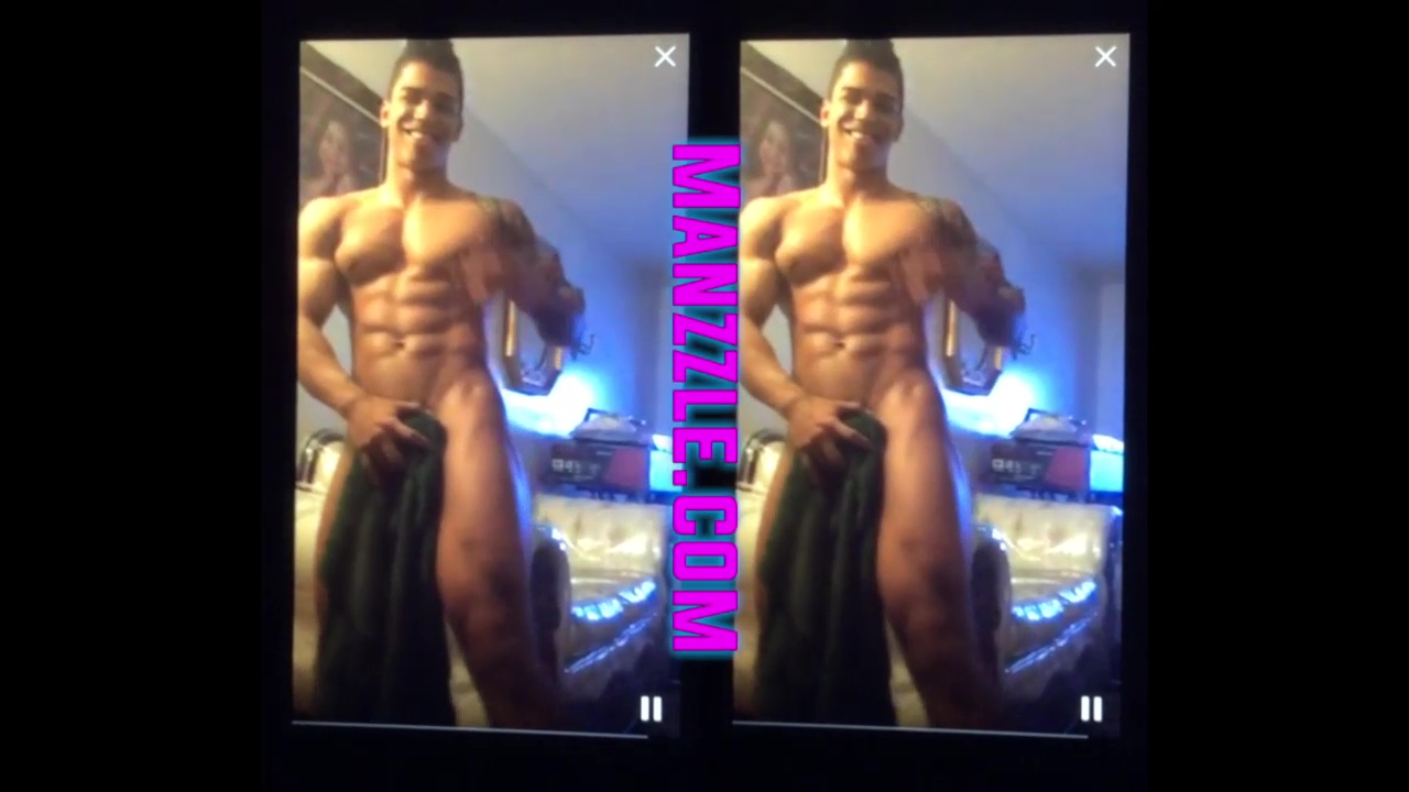 Preview: Dominican Muscle Boy Maravilla's Periscope Striptease