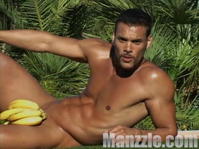 Marcus Patrick Strips For Calendar Shoot