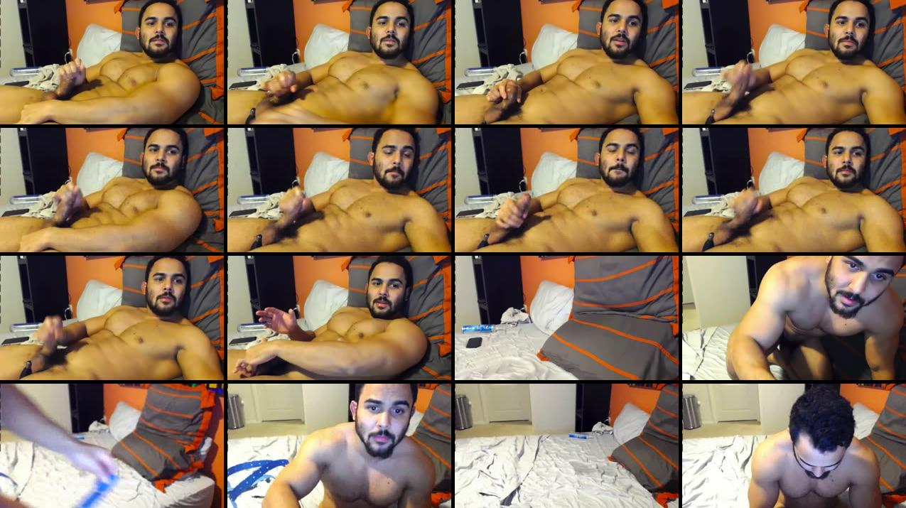 Fratpad Benji CUMS on webcam on Dec. 3, 2016