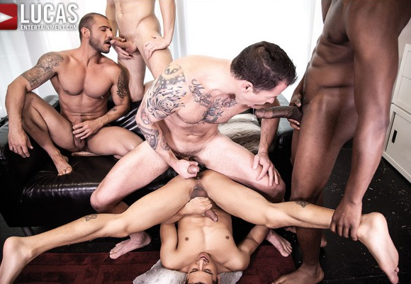 5 Man Raw Orgy - Interview