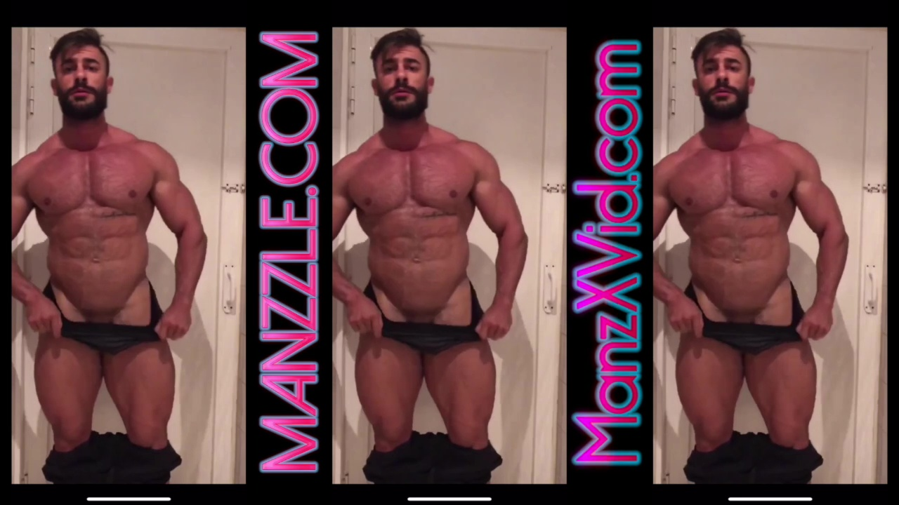 Bubble Butt Muscle Man Angel Diaz Martin Flex